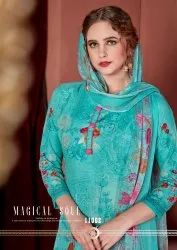 Gulzar Summer Collection Solid Cotton Dress Material Catalog Collection