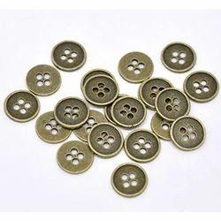 Metallic Garment Buttons