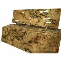 Gold Alaska Granite for Flooring, Thickness: 5-20 mm