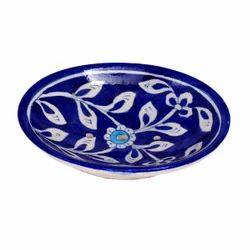 陶瓷蓝色陶器肥皂盘