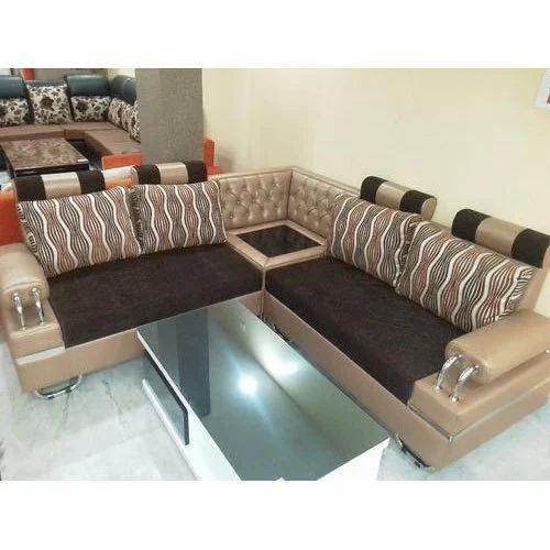 Velvet 6 Seater Sofa Set