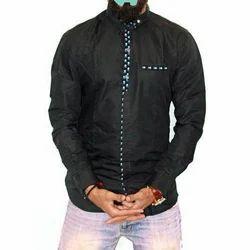 Black Mens Designer Shirt