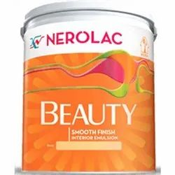 Smooth Nerolac Beauty Emulsion Interior Paint, Packaging Type: Bucket, Pack Size: 20 Liter