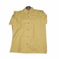 Cotton School Uniform Shirt, Size: S-XXL