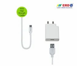 White ERD TC 100 BC Type C 24W Quick Charger