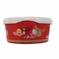 Hangyo Peach Apricot Ice Cream, Packaging Size: 1000ml, Packaging Type: Box