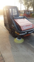 Road Sweeper for Industrial Area