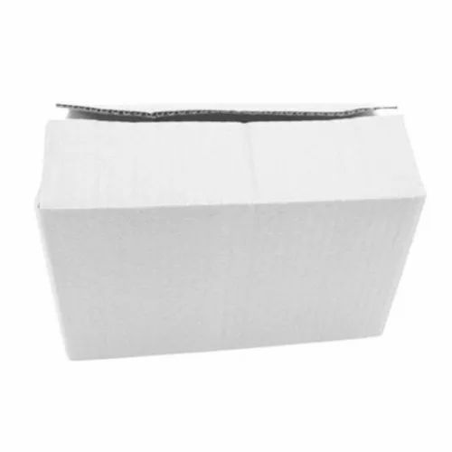 Sriyug Print Production Gift & Craft White Packaging Corrugated Box 12x10x8 inches