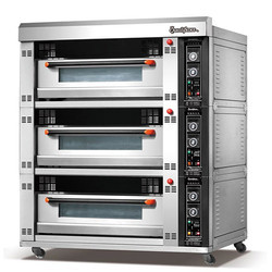 3 Deck 6 Tray Electric Oven