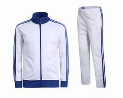 White Track Suits