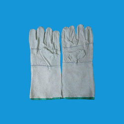 Industrial Leather Hand Gloves 14