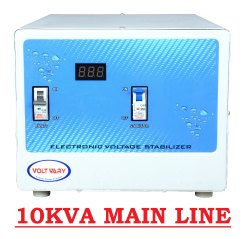 Digital Model Name/Number: Apm 1090 10KVA Main Line Voltage Stabilizer, Warranty: 2 Year, 230 V