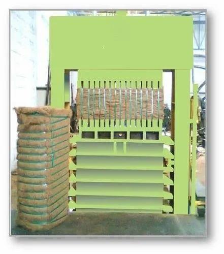 Coir Fibre Baling Machine