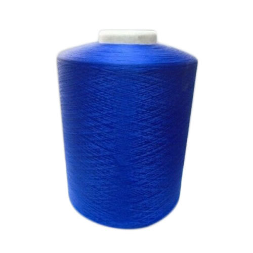 Blue Polyester Yarn, Usage : Embroidery, Weaving & Stitching
