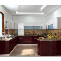 G Shaped Modular Kitchen