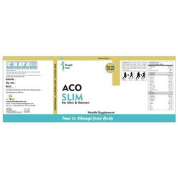 Aco Slim Weight Loss Powder, Packaging Type: Box, Packaging Size: 200 G