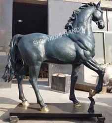 Standing Metal Horse