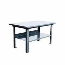 Rectangular Mild Steel Work Table