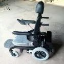 Foldable Back Rest Wheel Chair Electric Power
