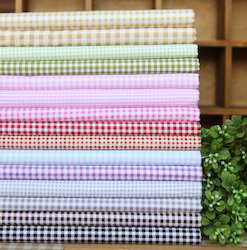 Cotton Checked Fabrics