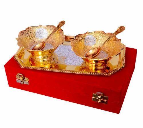 Silver Gift Items For Wedding: Wedding Gift Item German Silver Bowl Set