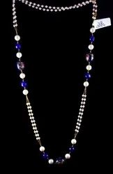 14K Pure Gold Beaded Necklace