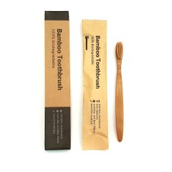 Bamboo Toothbrush ( C Curve Handle)