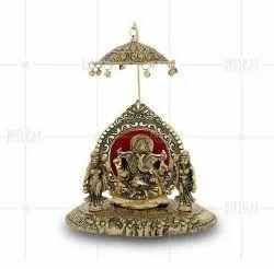 Gold Plated Riddhi Siddhi Statue