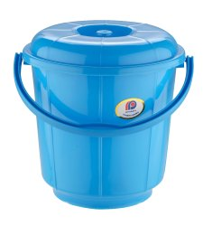 Plastic Handle Bathroom Bucket 18 Ltr