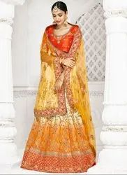 Exclusive Wedding Wear Lehenga Saree