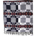 Acrylic Yarn Dyed Jacquard Shawls