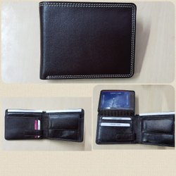 Mens leather purse wallet