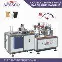 Nessco Double Wall (ripple Wall) Paper Cup Machine, 50-65 Pcs/min