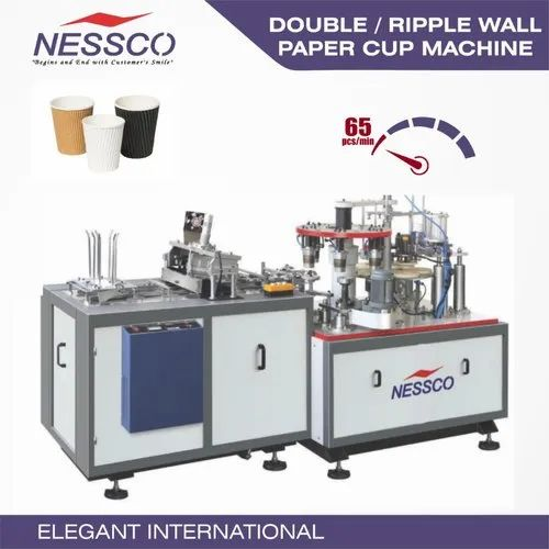 Double Wall (ripple Wall) Paper Cup Machine