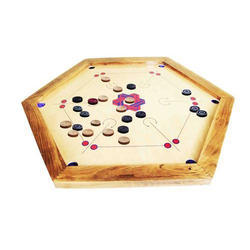 Tournament Hexagon Carrom Board