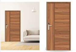 Wood As Mix Pine Laminated Door