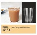 Plastic Transparent 165 Ml Juice Glass