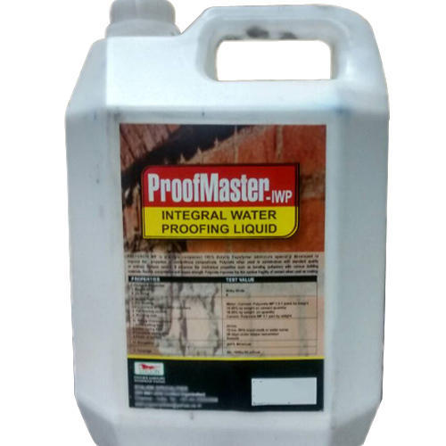 Proof Master Integral Waterproofing Liquid, for Construction