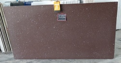 Artificial Brown Quartz stone slab