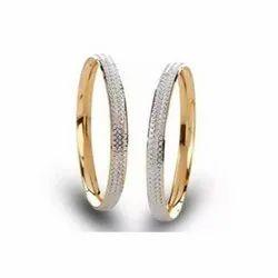 Mumbai Real Diamonds Gold Diamond Bangles