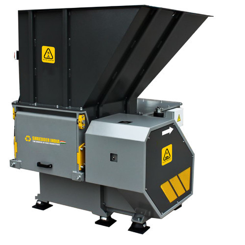 Single Shaft Shredder Semi Automatic Single Shaft