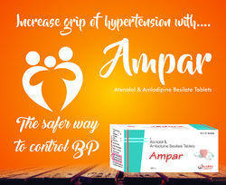 Atenolol    Amlodipine  ( AMpar )   Tablet