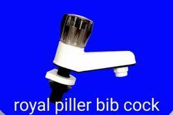 Plastic Pillar Bib Cock