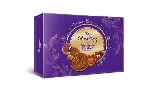 Brown Cadbury Celebration Treasure Gift Pack