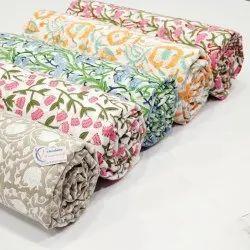 Hand Block Printed Fabric