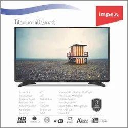 Impex Titatnium 40 inches Smart Television