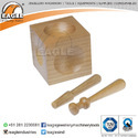 Jewelry Tool Wooden Dapping Punch Set