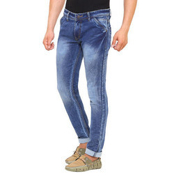 Mens Ice Blue Jeans