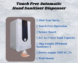 Touch Free Hand Sanitizer  Dispenser (Mur)