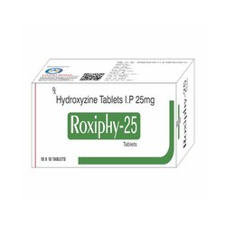 Hydroxyzine Tablets IP 25 Mg
